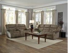 Manual Motion Tan Sofa