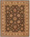 HERITAGE HALL HE18 SAB RECTANGLE RUG 5'6'' x 8'6''