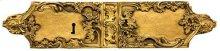 Double Door Rim Lock Louis XV Style