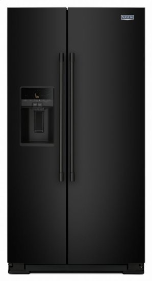 36- Inch Wide Side-by-Side Refrigerator with External Ice and Water- 26 Cu. Ft. Product Image