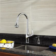 Xavier SelectFlo Pull-Down Kitchen Faucet  American Standard - Polished Chrome