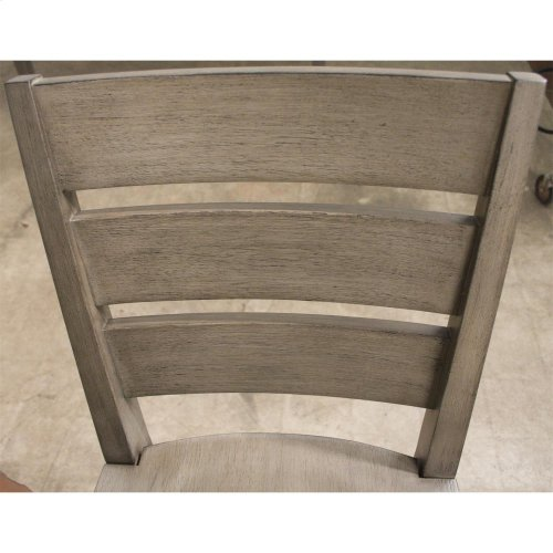 Vogue - Counter Height Chair - Gray Wash Finish