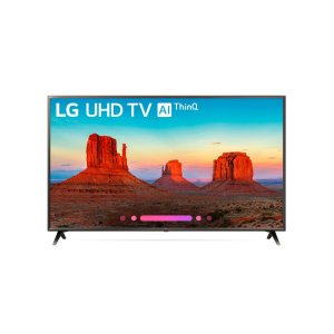 "LG AppliancesUK6300BUB 4K HDR Smart LED UHD TV w/ AI ThinQ(R) - 50"" Class (49.5"" Diag)"