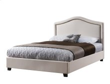 Upholstered Nailhead Platform Bed - Sunset Trading