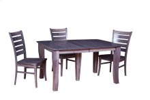 "42/60-2-20"" 5/4 Thick Top 5-Leg Dining Table"