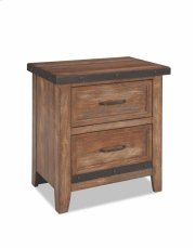 Taos Two Drawer Nightstand Product Image
