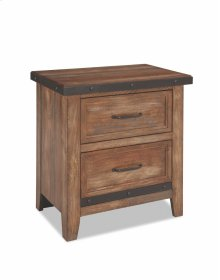 Taos Two Drawer Nightstand