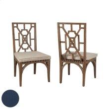 Teak Patio Dining Chair Cushion