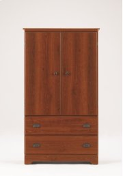 Armoire - 2 Drawer - Fixed Shelf Product Image