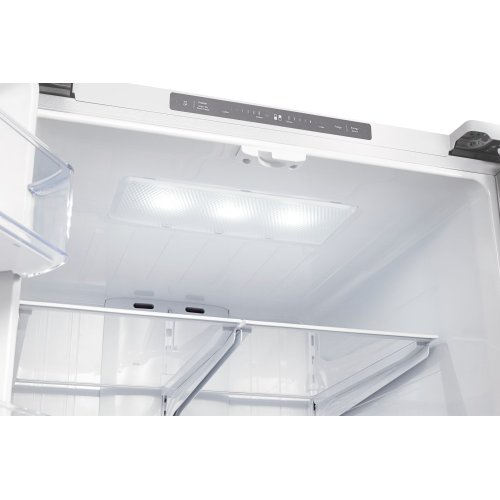 RF220NCTAWW French Door Refrigerator with Digital Inverter Technology, 21.6 cu.ft