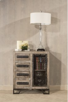 Bridgewater Accent Cabinet - Brushed Tan Wood