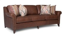 Leather Large Sofa