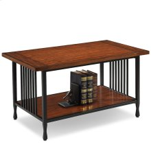 Condo/Apartment Coffee Table - Ironcraft Collection #11203