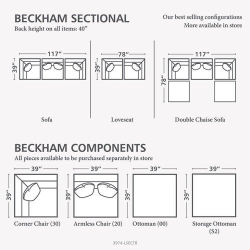 Beckham U-Shaped Sectional