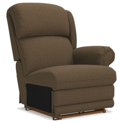 Kirkwood Left-Arm Sitting PowerReclineXR® Reclina-Rocker® Recliner w/ Brass Nail Head Trim