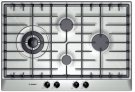 """300 Series 30"""" Stainless Steel Gas Cooktop 4 Burner Product Image"""