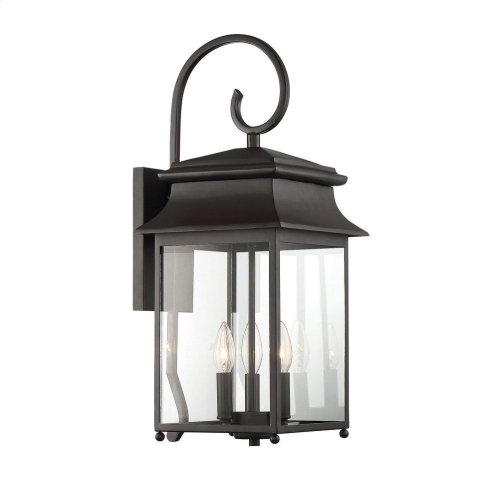 Durham Large Lantern W/ Scroll