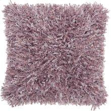 """Shag Tl050 Lavender 20"""" X 20"""" Throw Pillows"""