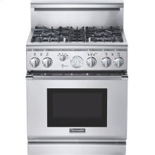 Professional Series 30 inch Dual-Fuel Commercial-depth Range PRD304EG - Stainless Steel
