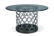 Tiburon Dining Table - Slate - Glass Top