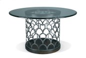 Tiburon Dining Table - Slate - Glass Top