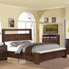Riata - Queen/king Bed Rails - Warm Walnut Finish Product Image