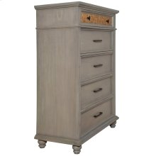 5 Drawer Chest, Available in Seaside Grey only.