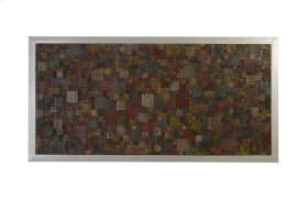 Puzzle Wall Art Rectangle Bright Assorted Colors