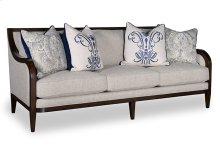 Bristol Three Seat Sofa With Tapered Legs