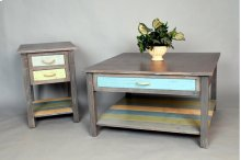 "#492 Weston End Table 18""wx22""dx25""h"
