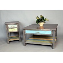"""#492 Weston End Table 18""""wx22""""dx25""""h"""