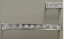 "Laminatto Knob 2 1/2"" Chrome Diamond"