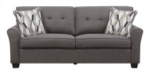 Emerald Home Clarkson Sofa W/2 Accent Pillows Espresso U3470-00-05
