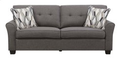 Emerald Home Clarkson Sofa W/2 Accent Pillows Espresso U3470-00-05 Product Image