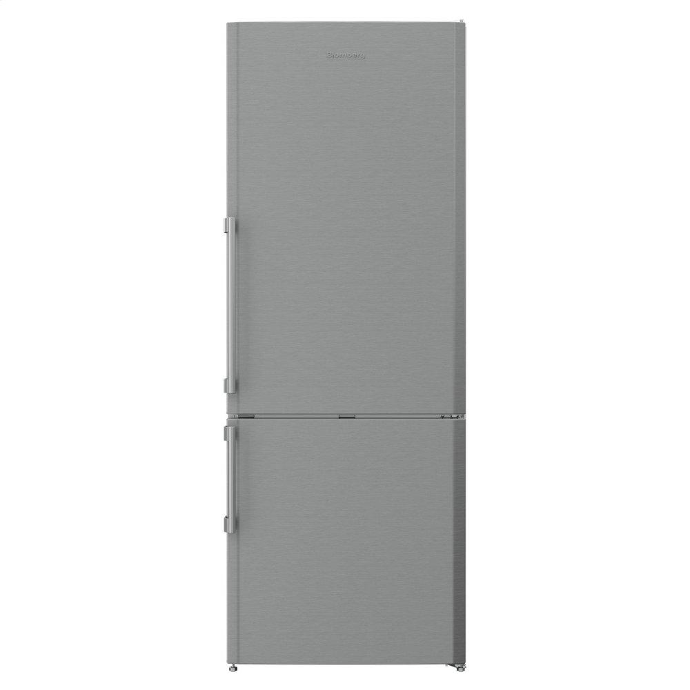 "27"" 15 cu ft bottom freezer fridge, stainless steel  STAINLESS STEEL"