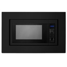"27"" Trim Kit for Countertop Microwaves - Black"