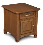 West Lake Cabinet End Table