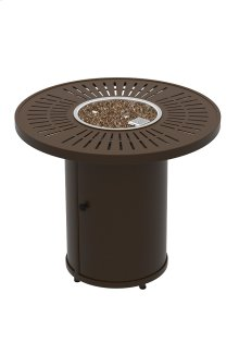 "La'Stratta 30"" Round Fire Pit, Manual Ignition"