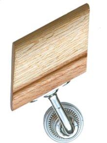Handrail Bracket w/Small Beaded Rose