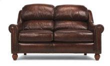 Wayne Leather or Fabric Loveseat