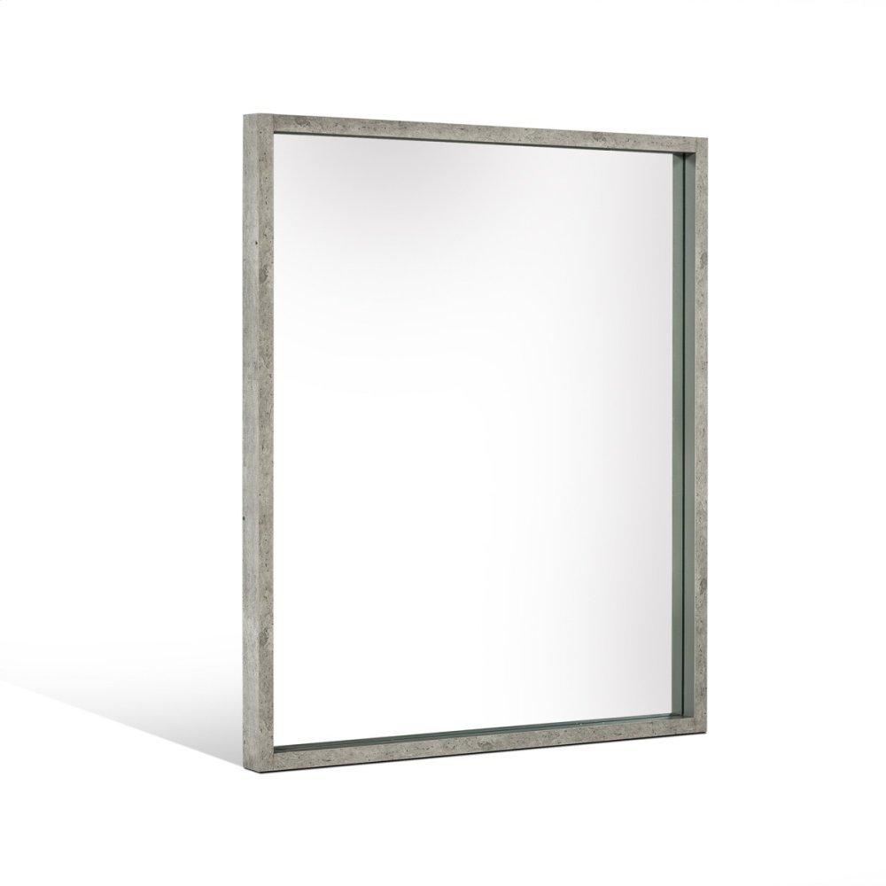 Nova Domus Conner Modern Grey Mirror
