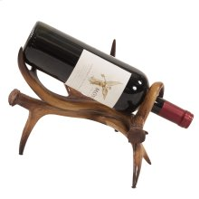 Faux Antler Wine Holder