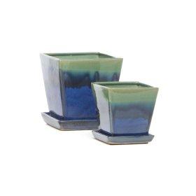 Pippa Petits Pots w/ att. scr - 4 sets of 2 (Min Qty 4)
