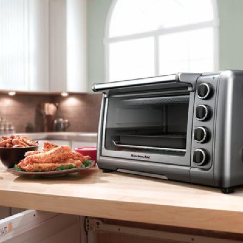 10 Countertop Oven Contour Silver