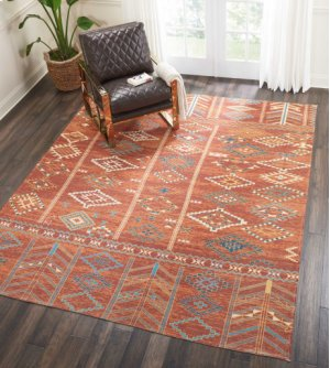 Madera Mad05 Sunset Rectangle Rug 6'6'' X 9'6''