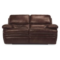 Dylan Leather Non-Chaise Reclining Loveseat Product Image
