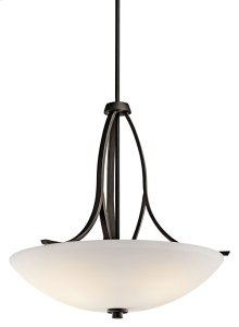 Granby 3 Light Inverted Pendant Olde Bronze®