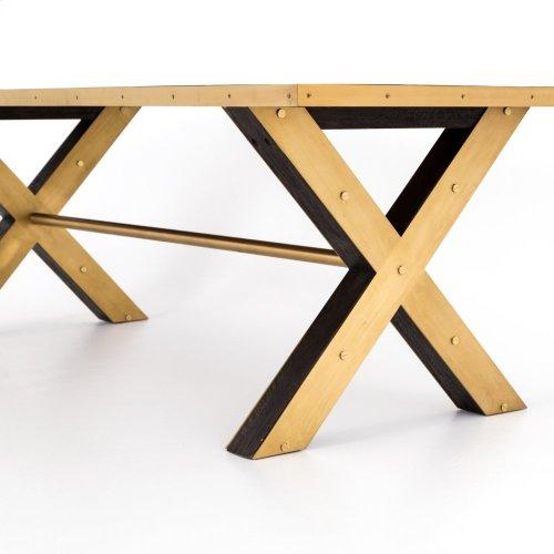 "Burton Large Dining Table-120"""