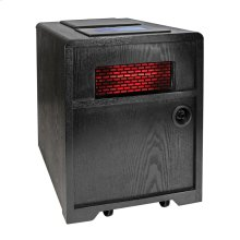 CZHHAP Quartz Infrared Electric Cabinet 3-in-1 Heater, Black