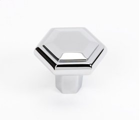 Nicole Knob A423 - Polished Chrome